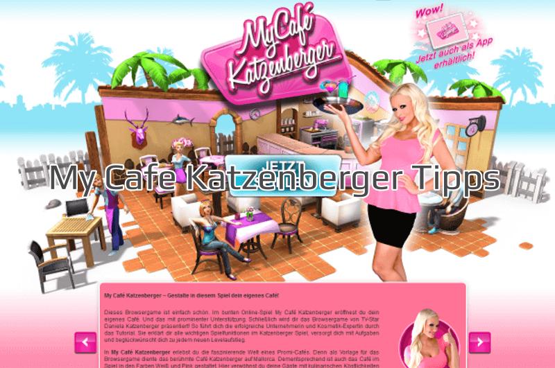 My Cafe Katzenberger Tipps und Tricks