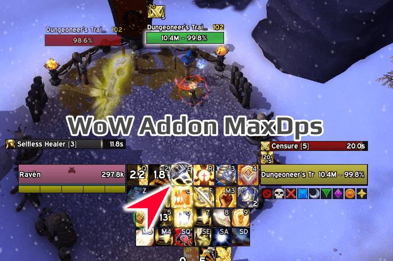 WoW Addon MaxDps