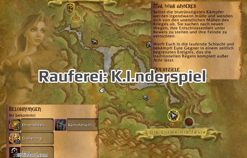 Rauferei: K.I.nderspiel