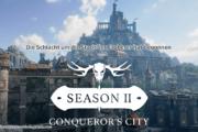 Die Schlacht um die Stadt der Eroberer hat begonnen