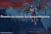 Shadowlands-Offizielle Übersicht der Klassen- und Signaturfähigkeiten (Pakte)