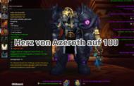 Erster Spieler bringt Herz von Azeroth auf 100